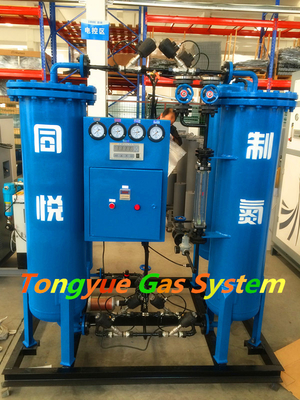 ประเทศจีน Skid Mounted High Pressure Nitrogen Generator PSA Steel Wire Heating Treatment โรงงาน
