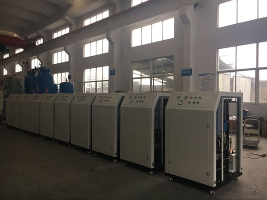 ประเทศจีน Low Dew Point Mobile Nitrogen Gas Generator For Food Industry 10Nm3/H High Purity 99% โรงงาน